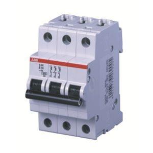S203-C10 Sicherungsautomat C-Char.,6kA,10A,3P
