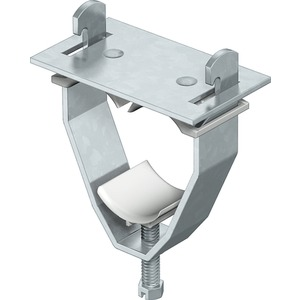 Bügelschelle für 3 Einleiterkabel 34-37mm St tauchfeuerverzinkt