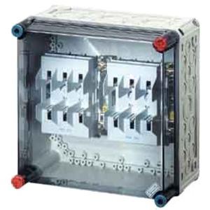 MI 4250 MI-NH-Sicherungsgehäuse 2xNH00 3pol 125A +PE +N