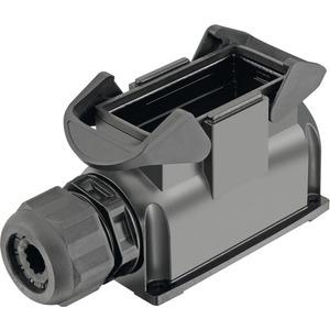 Sockelgehäuse mit integrierter Kabelverschraubung 16 B Han-Eco 1x M40