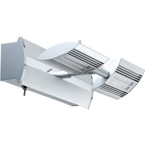 Spotlights Linear LED Balken 2x6W Chrom matt 230/12V Metall