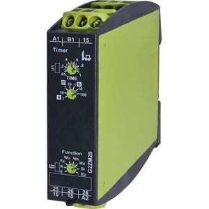 Zeitrelais G2ZM20 12-240VAC/DC) Multifunktion 2 Wechsler Zoomsp.