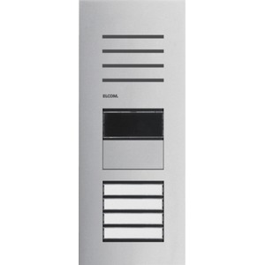 Türstation Audio mit LED-Zustandsanzeige 4/1 2Draht Edelstahl matt ONE