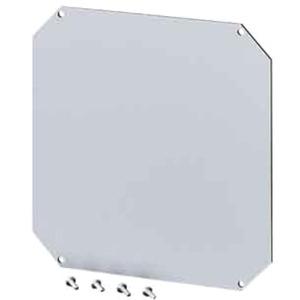 MI Zubehör Montageplatte Isolierstoff 4 mm stark MI MP 1 Gr. 1,3+4