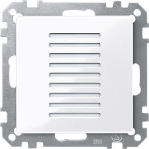 Raumtemperaturregler für den Objektbereich aktivweiß glänzend