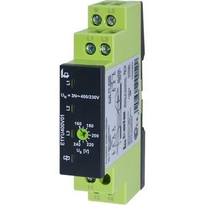 Spannungsüberwachungsrelais E1YU400V01 3-phasig gegen N 1 Wechsler