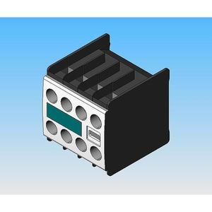 Hilfsschalterblock 11 1S+1Ö DIN EN50005 S00 für Hilfs-/Motorschütze