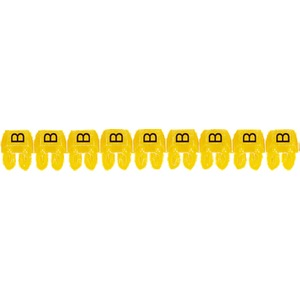 """CAB 3 Kabelkennzeichnung 1,5 - 2,5 mm² Buchstabe """"B"""""""