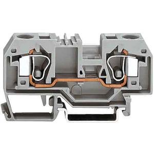 2-Leiter-Durchgangsklemme 0,2 - 10 mm² grau