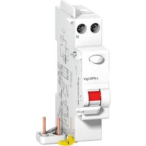 Fehlerstromschutz-Zusatzblock Clario Vigi DPNc 1P+N 25A 30mA
