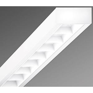 Anbauleuchte Raster weiß cubus-RMAC T5 2x35/49 EVG vw