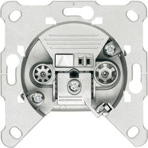 Antennen Steckdose 2-Loch Breitband Einzeldose 4 dB