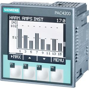 SENTRON PAC4200 LCD 96x96mm Power MONITORING Device Schalttafel-Einbau