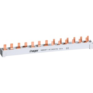 Phasenschiene (Stift) 10 mm² 4-polig 13PLE