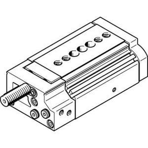 Mini-Schlitten Kugel-Käfig-Führung Baugr. 12 mm / Hub 20 mm P-Dämpf.