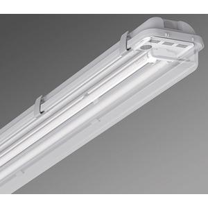 Leuchte höherer Schutzart - Diffusor klar PA 2/58 EVG kg