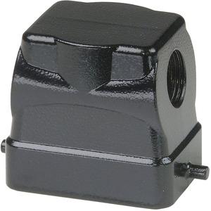 Tüllengehäuse BHT6 43 mm hoch schwarz