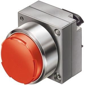 22mm Metall rund Betätiger:Drucktaster mit hohem Druckknopf