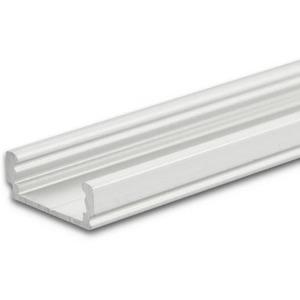 LED Aufbauprofil SURF12 FLAT Aluminium eloxiert 200cm