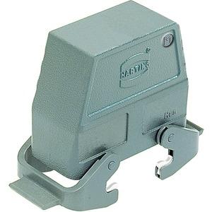Tüllengehäuse 24 B Han B 1x M40 Hohe Bauform Querbügel pulverbeschichtet