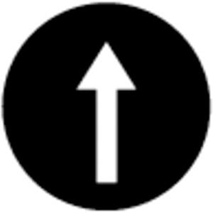 Tastenplatte flach schwarz beschriftet