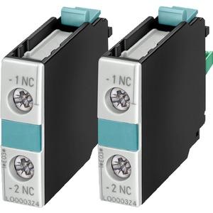 Hilfsschalterblock 1S DIN EN50005 für Motorschütze 1pol.