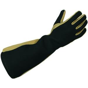 Störlichtbogengeprüfte Schutzhandschuhe mit verlängerter Stulpe