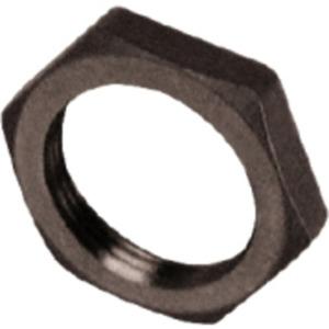 Kunststoff-Gegenmutter M32 schwarz