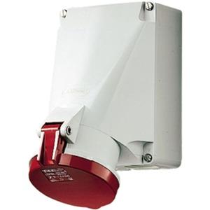 CEE Wandsteckdose 63A 5-polig 400V / 6h IP44