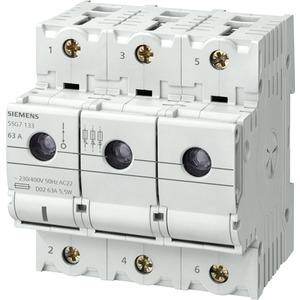 MINIZED-Lasttrennschalter für NEOZED-Sicherungseinsätze D02 3-polig+N