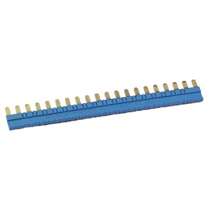 Verb.brücke 20-polig für Fassungen 93.01 / 93.51 blau 36A Serie 93
