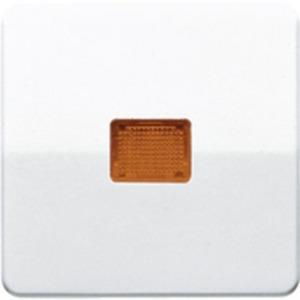 Wippe Lichtaustrittsfenster für Wipp-Kontrollschalter braun