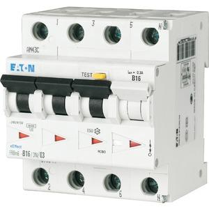 FI/LS 16A 30mA LS-Kennlinie-C 3p+N FI-Char: AC