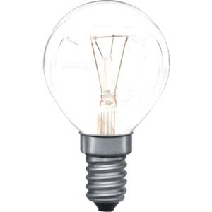 Glühlampe Tropfen für Herd und Ofen 25 Watt E14 300° Klar