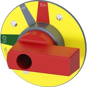 Zusatzgriff für Türkupplungsdrehantrieb Not-Halt - Zubehör für 3VA2 250