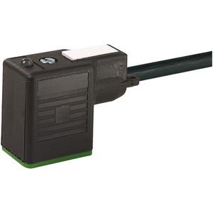 Ventilstecker MSUD Bauform BI freies Leitungsende. 3 x 0,75 SCHW 10m