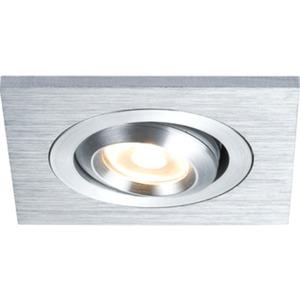 Einbauleuchten-Set Premium Line 3 W LED Alu geb. Eckig 3x3 W