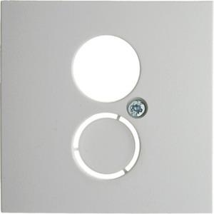 Zentralstück für Lautsprecher-Steckdose und Kleinsteckverbindereinsatz