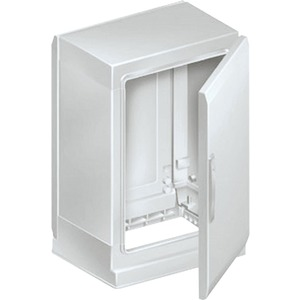 Gehäuse mit 2 Türen Polyester grau RAL7035 IP54 1000X1000X420mm