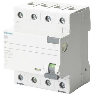 Fehlerstromsschutzschalter 4p Typ A kurzzeitverz. 63A 30mA therm. Überlastschutz