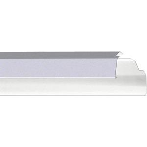 Reflektor weiß aus Stahl SDR 1500 /58 vw verkehrsweiß RAL 9016