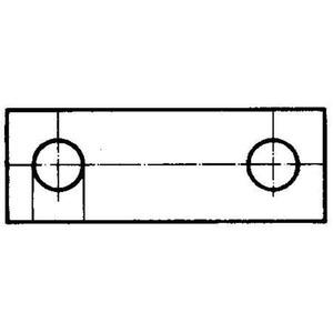Querverbinder / Brücker für Reihenklemme QL 10 SAK35