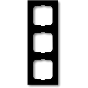 Abdeckrahmen future 3-fach Linear anthrazit glänzend