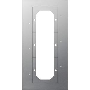 Montageplatte 3-fach Türkommunikation