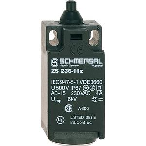 Positionsschalter mit Druckbolzen nach EN 50047