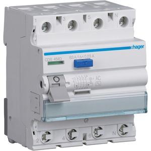 Fehlerstrom-Schutzschalter 4-polig 63 A 30 mA Typ AC QuickConnect