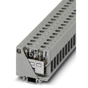 Mini Durchgangsklemme 0,5 - 10 mm² grau NS 15