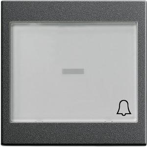 Wippe beschriftbar groß Symbol Klingel System 55 anthrazit