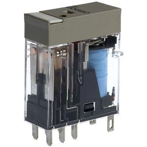 Leistungsrelais 2 Wechsler 48 V DC LED + Schaltstellungsanzeige