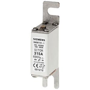SITOR-Sicherungseinsatz für Halbleiterschutz 80A aR AC690V DC700V Gr.0